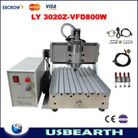 Wholesale Mini desktop engraving machine CNC Z VFD800W for wood engraving cutting drilling and millng mini cnc router