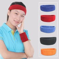 sweatbands - 50pcs Breathable Exercise Sweatband Cotton Elastic Headband Outdoor Running Cycling Accessories os705