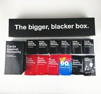 cards against humanity - Against Humanity Complete Set the bigger blacker box Base Expansions Holiday Science pack Card games