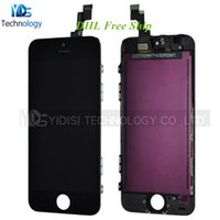 Cheap High Quality LCD With Digitizer Assembly For iPhone 5S LCD Display Touch Screen Repair Parts Replacement