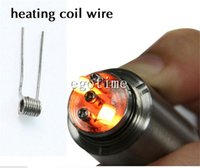 Cheap NEW Kanthal a1 Wire Resistance kanthal 28 26 24 22 guage pre-built Wires Heating coils for rda aspire glass nautilus mini ce5s et s istick