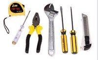 Wholesale used vehicle dubai Yiwu eight sets of multifunctional household combination tool set hardware tools Truck Repair Tools Gift package