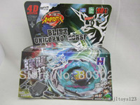 Wholesale Metal Fusion D Beyblade BB117 Blitz Unicorno RSF Bey Blade Super Speed Spinning Top Toy for Kids Gift