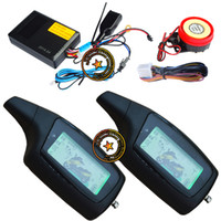 motorcycle alarm - cardot two way motorcycle alarm is with LCD remotes vibration and light warning remote start stop finding mute alarm auto alarm