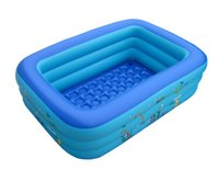 Wholesale Small Child The Super Large Square Baby Swimming Pool Large Infant Inflatable Pool Baby Swim Pool With Swimming Laps And Air Pump In A4