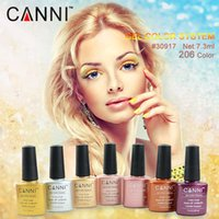 Wholesale 30917x Nail Art CANNI Factory Hot Sale ml Good Price Soak off UV LED Color Gel for Nail Art COCO UV Color Gel