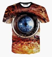 bell components - 2016 new Machinery tshirt Components Harajuku Camera Men D Print Galaxy t shirt Women s t shirts summer style