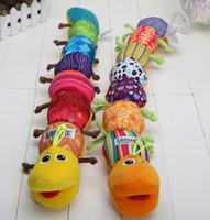Wholesale Lamaze Musical Inchworm Educational Children Toys Music Stuffed Plush Baby Toys