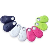 Wholesale 300pcs Wireless Remote Itag Bluetooth Tracker Keychain Key Finder GPS Locator Practical Mini Anti Lost Alarm For Child Wallet Pet