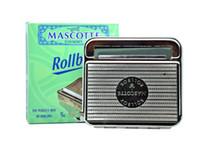 Wholesale 70mm Rolling Machine Mascotte Automatic Tobacco Roller Tin Cigarette Roll box PC
