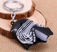 PVC best solos - NEW Hot fashion Cartoon movie key chain toys Star Wars Han Solo Alloy keychain Toys best gifts cc143