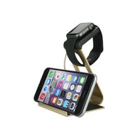 aluminum air stations - For iPad Air iPhone Plus Aluminum Metal Charging Stand Bracket Docking Station Stock Cradle Holder For Apple i Watch mm mm