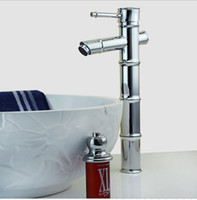 Wholesale bamboo art faucet bamboo joint barss tap artistic faucet