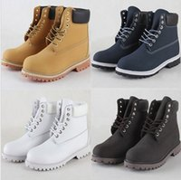 Wholesale 2015 new NIB Mens womens boots Timberl0and6 quot Inch High Boots A