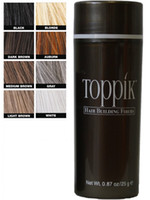Wholesale BRAND NEW TOPPIK Hair Building Fibers with Natural Keratin Hair Loss Concealer g oz DHL free