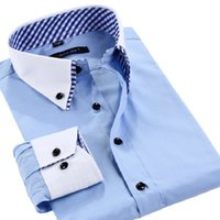 best quality mens dress shirts - Best Quality New Brand Mens Dress Shirts and Tops Men s Fashion Casual Long Sleeve Blouse Men Business Shirt Large Size