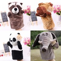 Wholesale Farm Friends Hand Puppets Open mouth hand puppets toys Plush animal hand puppets Kinds Hand puppets toys Childhood toys Puppet Toys
