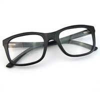 optical frame - New arrival laminated clear lens glasses black frame Optical frame glasses handmade wooden eyeglasses protection Optical lens C020