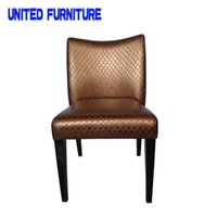 Wholesale High grade modern stylish coffee shop chair dining chair hotel chair Multi color optional