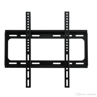 lcd tv hdtv - New TV Flat Panel Fixed Mount HDTV Wall Mount Flat Screen Bracket with VESA Compatibility for quot quot Screen LCD LED Plasma TV DHL V1406