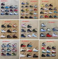 shoe keychain - AJ Jordon keychain models Jordon sneaker air jordan shoe key chain Jordan Retro Sneaker keychains Lebron Kobe Yeezy keychain