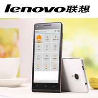 mobile phone new model - 2015 New original Lenovo Phone MTK6592 Octa Core Android4 quot HD G GPS dual sim card G ram G Rom MP unlocked mobile phones