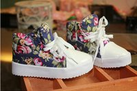 baby girl fitness - Fashion Children Sneakers Kid s Shoes Side Part Flower Floral Individuality Baby Kids Canvas Shoes Boys Girls Sneaker