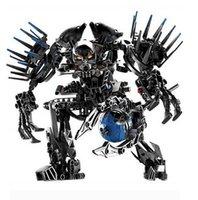 Wholesale Decool Hero Factory Star Soldier Action Figure Von Nebula Building Blocks Original Packing
