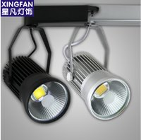Wholesale w LED Track light W LED Spotlight LM W Integrated chips