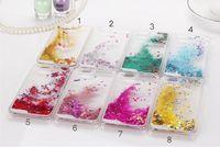 Cajas de caso transparentes cristalinas claras mágicas del caso de la cubierta plástica del brillo del corazón del amor de la estrella para Iphone 4 4S 5 SE 5S 5C 5pcs 10PCS