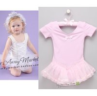 ballet overalls - baby ballet dresses baby hot palace royal toddler one piece dress rompers newborn overall baby clothes pettiskirts D47