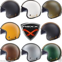 Wholesale Nexx overseas purchasing authentic vintage motorcycle half helmet motorcyclist pilot helmet visor sunglasses