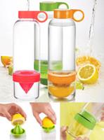 Wholesale NEW CITRUS DRINK WATER INFUSE HEALTH LEMON JUICE FLAVORED MAKER BPA FREE BOTTLE