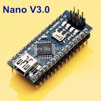 Wholesale 1 Mini USB Nano V3 ATmega328P V M Micro controller Board For Arduino