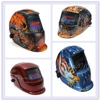 Wholesale Muti color Choice Solar Auto Darkening Welding Helmet Mask Cap For Welder Goggles Welding Tool UV IR Protect