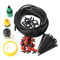 Wholesale Hot Sale DIY Micro Drip Irrigation System Automatic Plant Garden Watering Kit Gardening Drip Irrigation M Hose Drippers