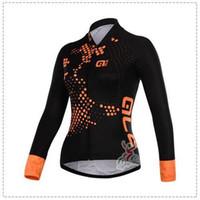 Wholesale cheap Cheap Giordana Women cycling Jersey sets with Long sleeve bike top bib pants in cycling clothing bicycle wear Cycle jerseys