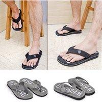 Wholesale New Promotion Summer Spring Men Casual Non slip Flip Flops Male Boys Sport Beach Slippers Wearproof Flat Shoes Size
