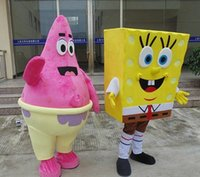 Wholesale Patrick Star Mascot Costume Characters Costume Halloween Kids Party Gift Dress