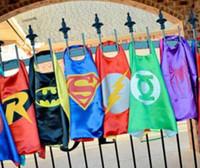 thanksgiving - New Arrive Superhero Kids Capes Superman Batman Spider man Flash Super girls Kids Cartoon Capes Halloween Children Capes