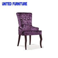 Wholesale Mr Dream wicker furniture dining chairs with armrests french metal dining chairs luxury home furniture new design