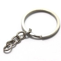 Wholesale cm Diy accessories mm key ring keychain key ring small circle steel wire