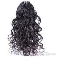 Wholesale 100 Human Hair Pure Chinese Remy Hair Jerry Curl Hair Weaving Natural Color No Tangling Nice Hair JC080