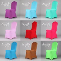 Wholesale banquet chair cover hotel chair cover chair decoration for wedding