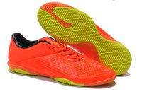 shoes dropship - 2014 New Arrivals Mens Orange Hypervenom Phelon TF Turf Indoor Soccer Shoes Cheap High Quality Brand Football Boots Dropship Fast Delivery