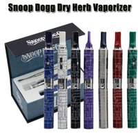 vapor - Snoop Dogg Dry Herb Vaporizer Vapor pen E Cigarette e cig kits mAh Herbal Dry Herb Atomizer colors