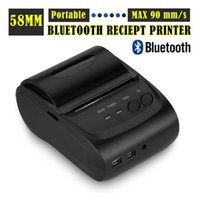 Wholesale 2Inch Standby Time days Android Bluetooth Wireless Mobile mm Mini Thermal Receipt Printer Portable with SDK