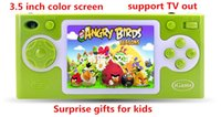 Wholesale Hot sale inch Children video game console handheld game console Student game player support TV OUT