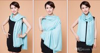Wholesale 2015 Autumn And Winter New Casual Solid Color Scarves Imitation Wool Shawl Colors