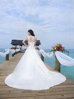 elie saab wedding dresses - 2015 Elie Saab crystal seathought vintage wedding dresses elie saab dress bride casamento vestido de renda noiva curto